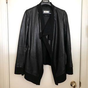 Authentic Mackage leather jacket women size XS